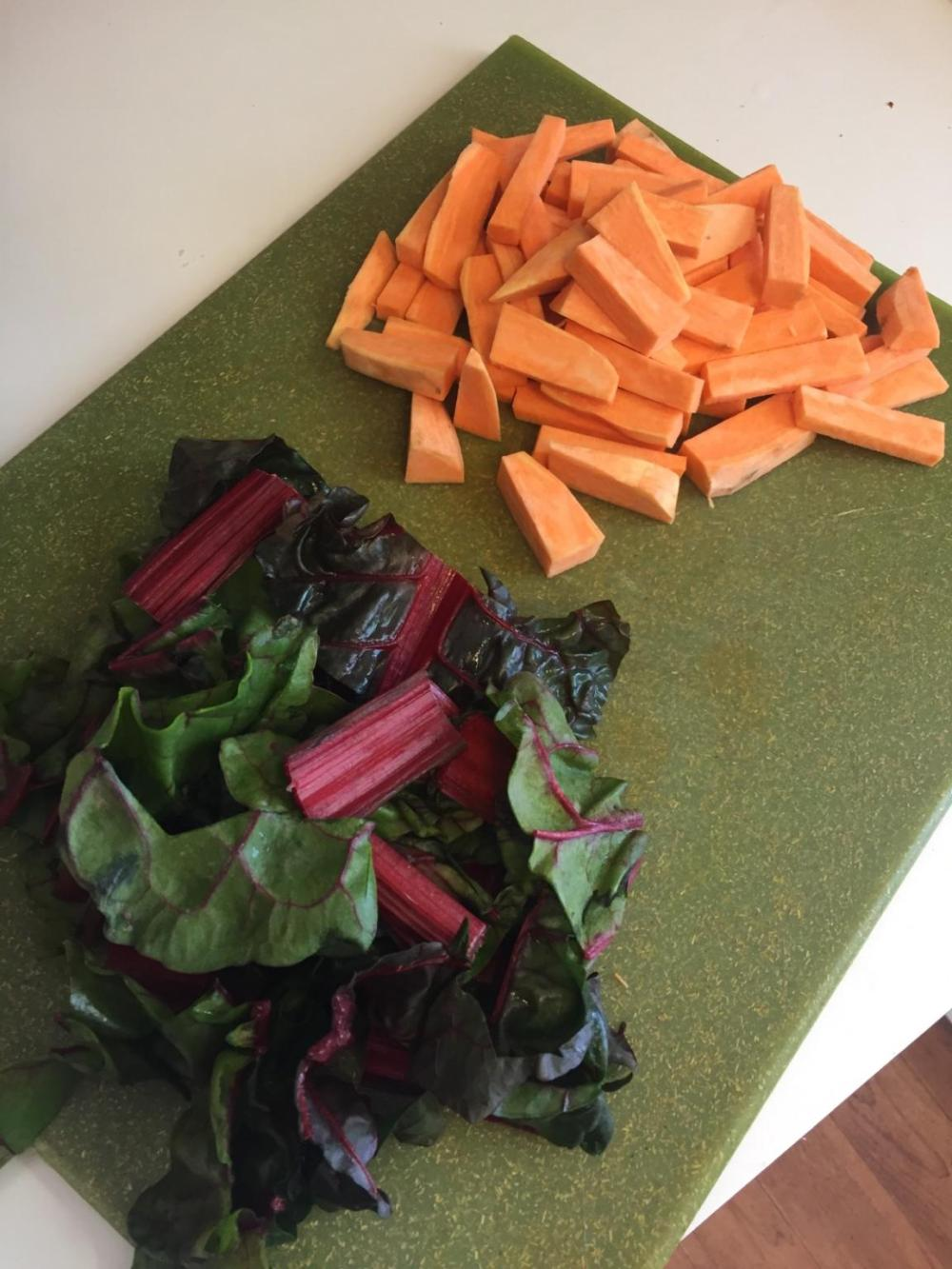 chopped-swiss-chard
