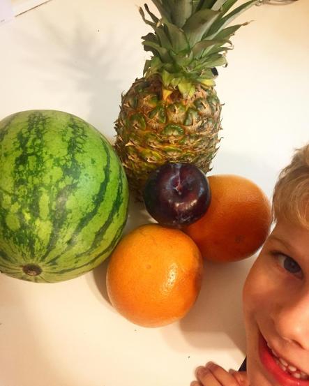 fruit sald ingredients