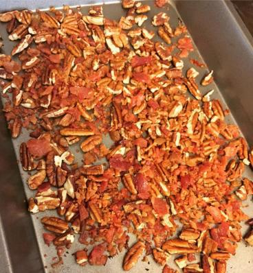 pecans and bacon