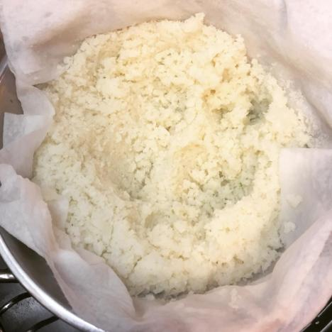 DRAINED CAULIFLOWER